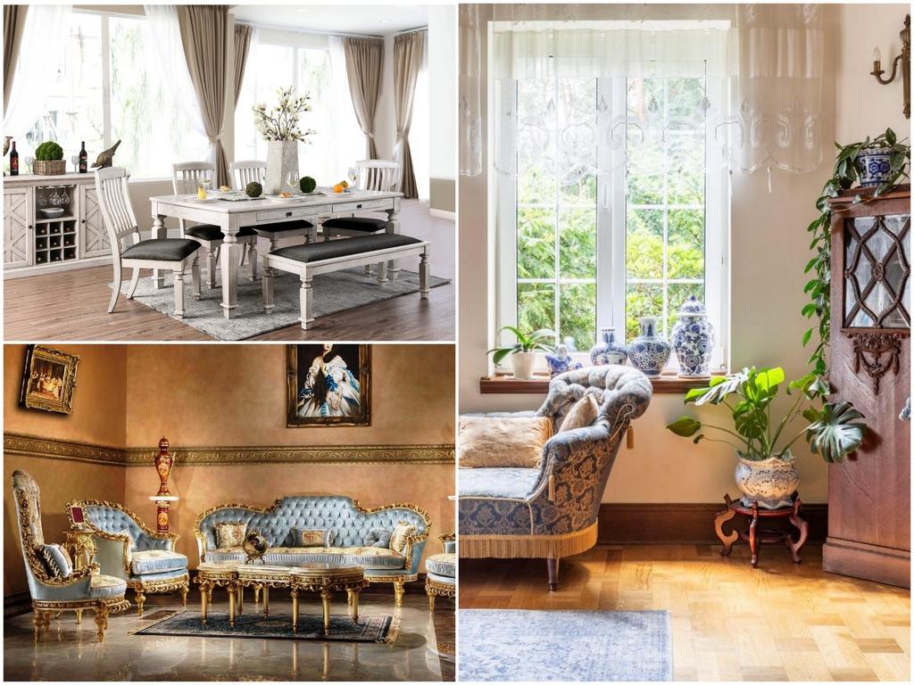 Достоинства и недостатки антикварной мебели