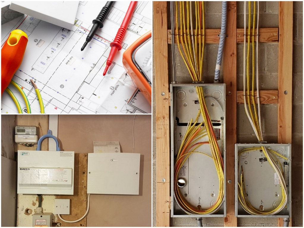 Как правильно делать электромонтажные работы в домев доме