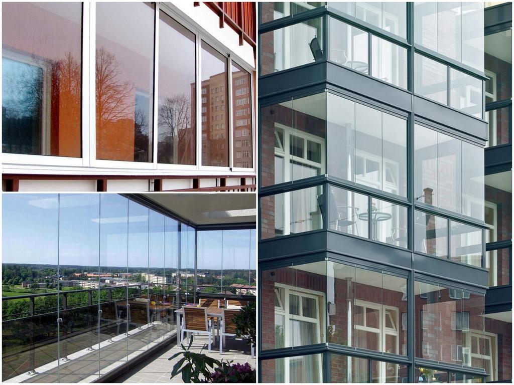 Как правильно делать остекление балконов