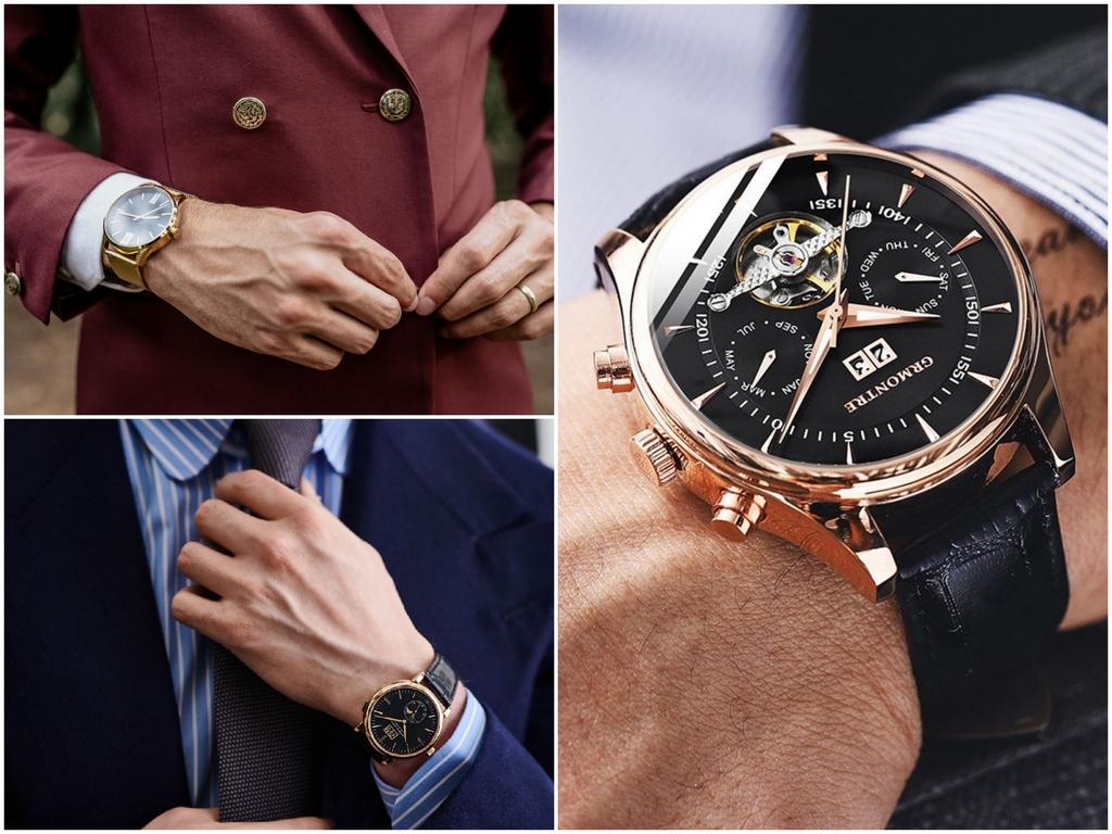 Как правильно выбрать мужские часы