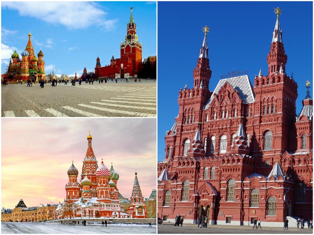 Красная Площадь Собор Василия Блаженного Государственный исторический музей