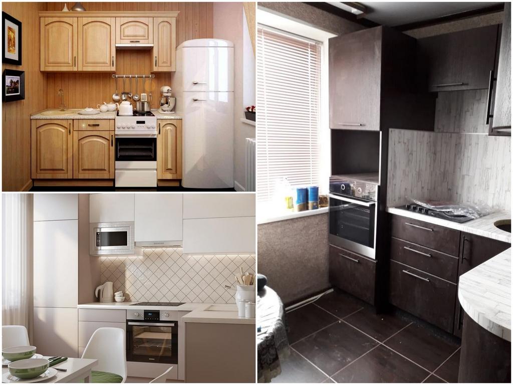 Кухня для дачи из МДФ