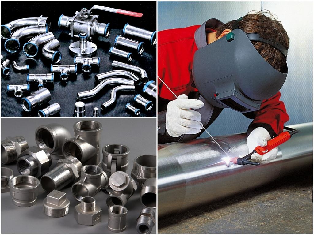 Монтаж и соединение стальных труб