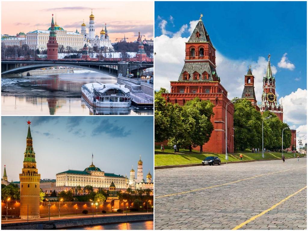 Московский Кремль, начиная с Ивана Великого