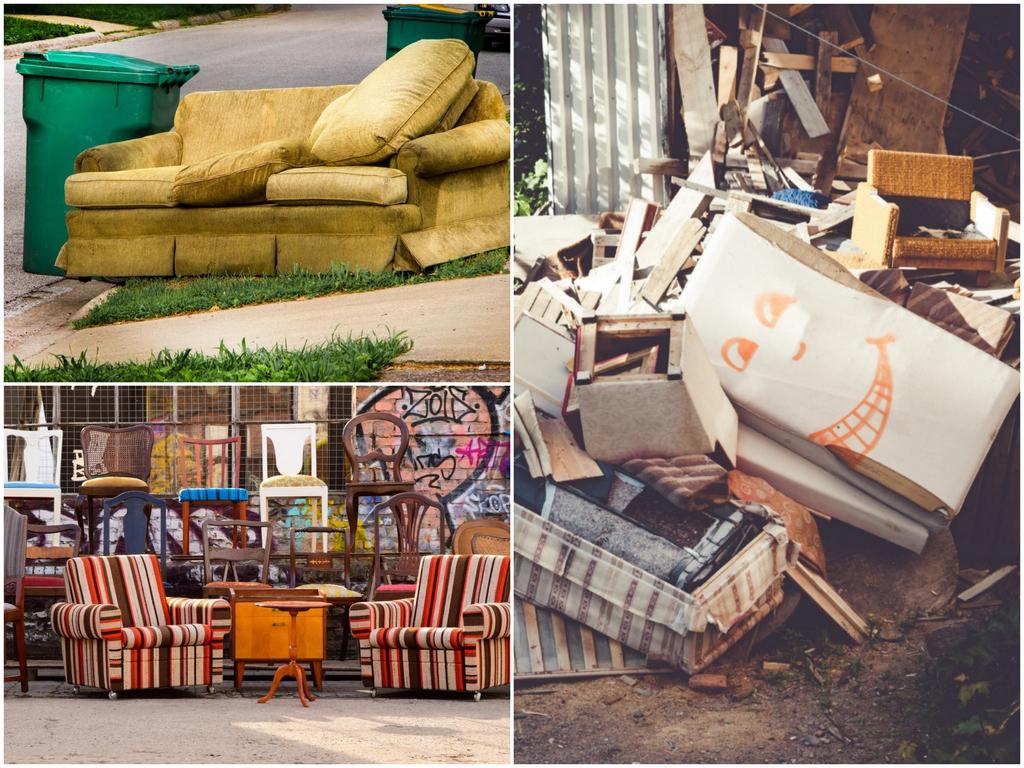 Обновляем интерьер и выбрасываем старую мебель