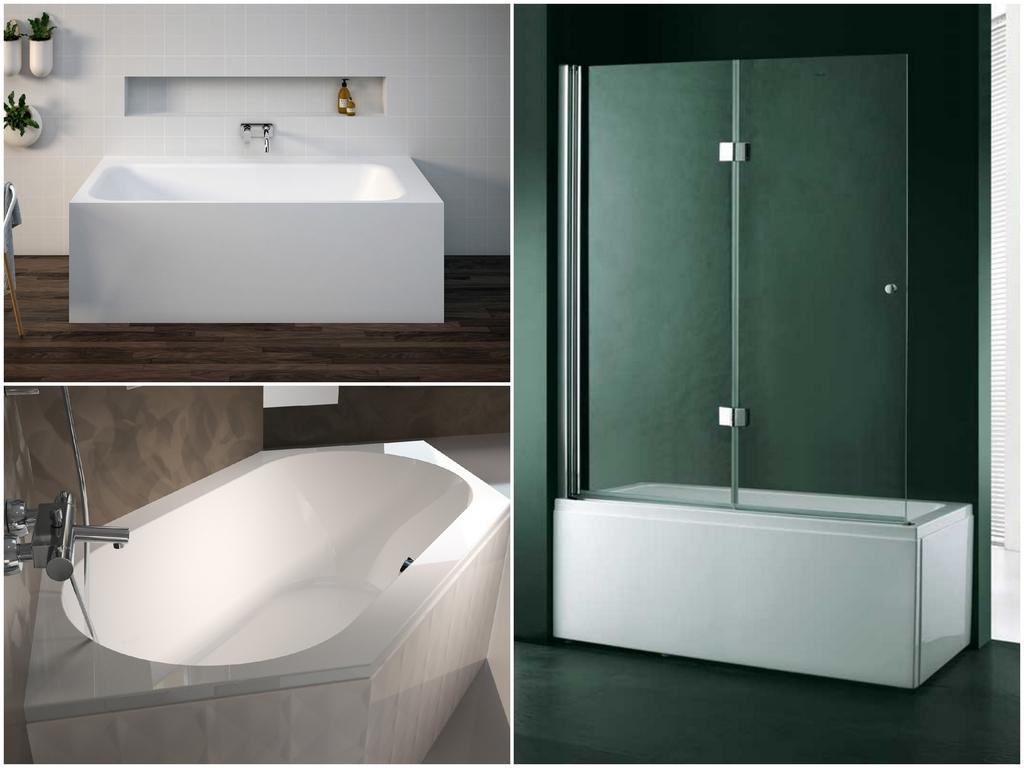 Особенности акриловых ванн от Сezares