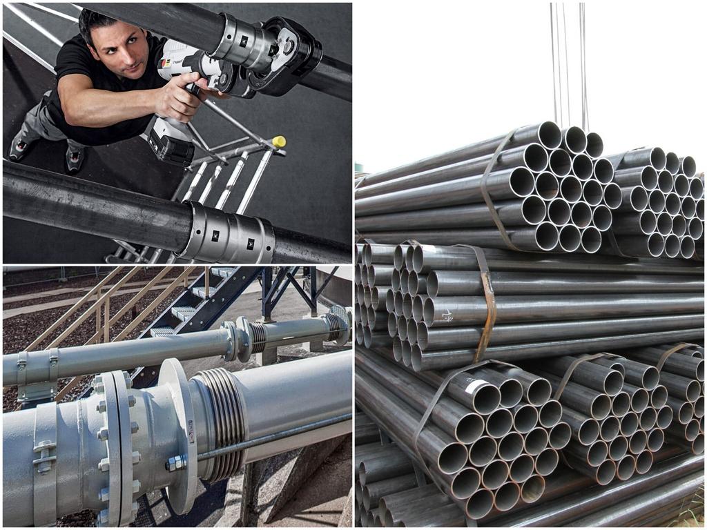 Почему стальные трубы так популярны