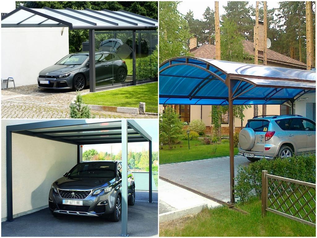 Преимущества постройки навеса для автомобиля
