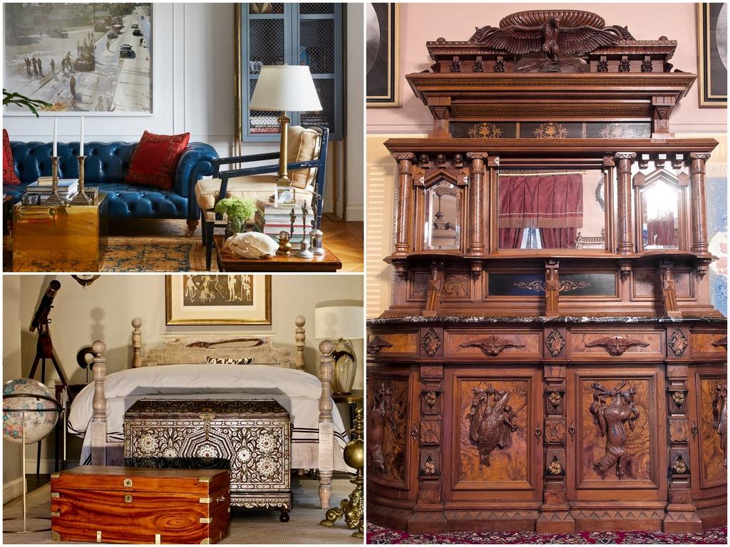 Виды антикварной мебели