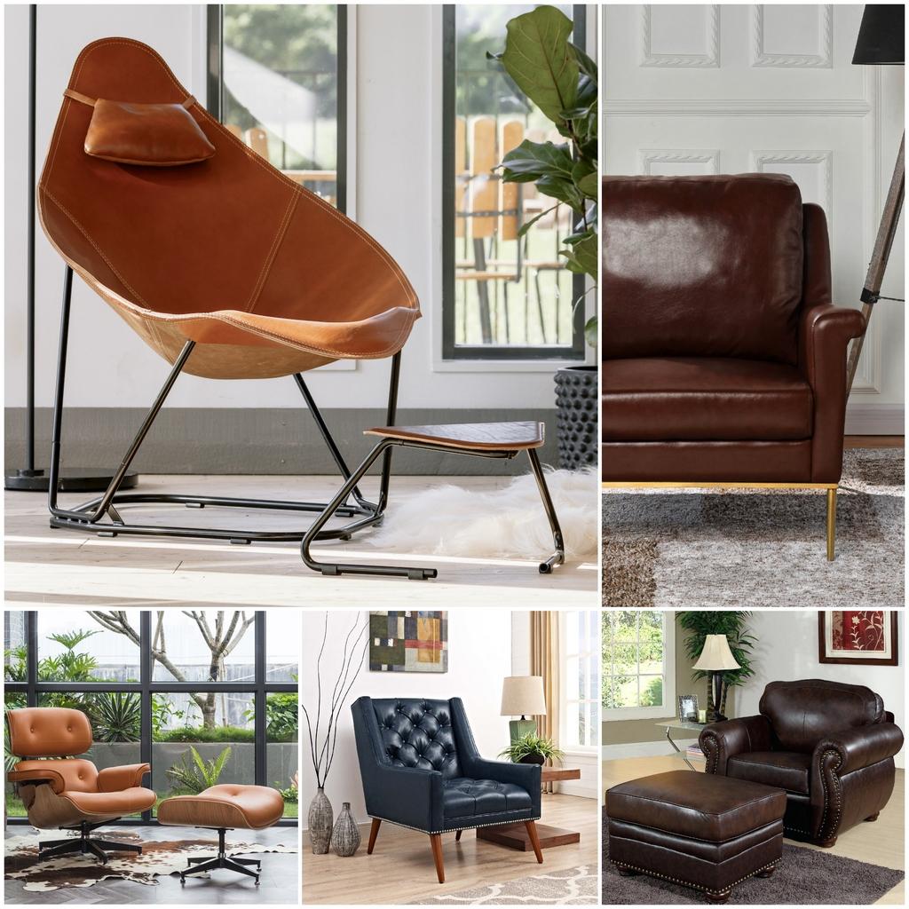 Выбираем современное кожаное кресло