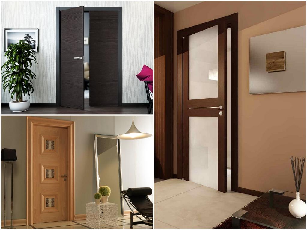 Межкомнатные двери из комбинированных материалов