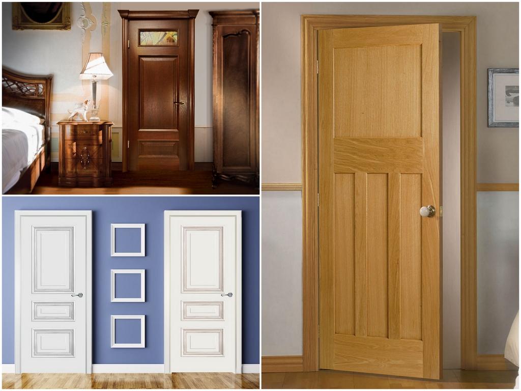 Межкомнатные двери из натуральной древесины