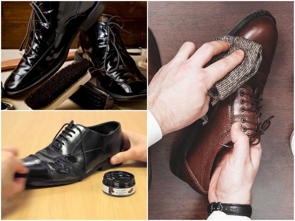 Царапины на лакированной обуви