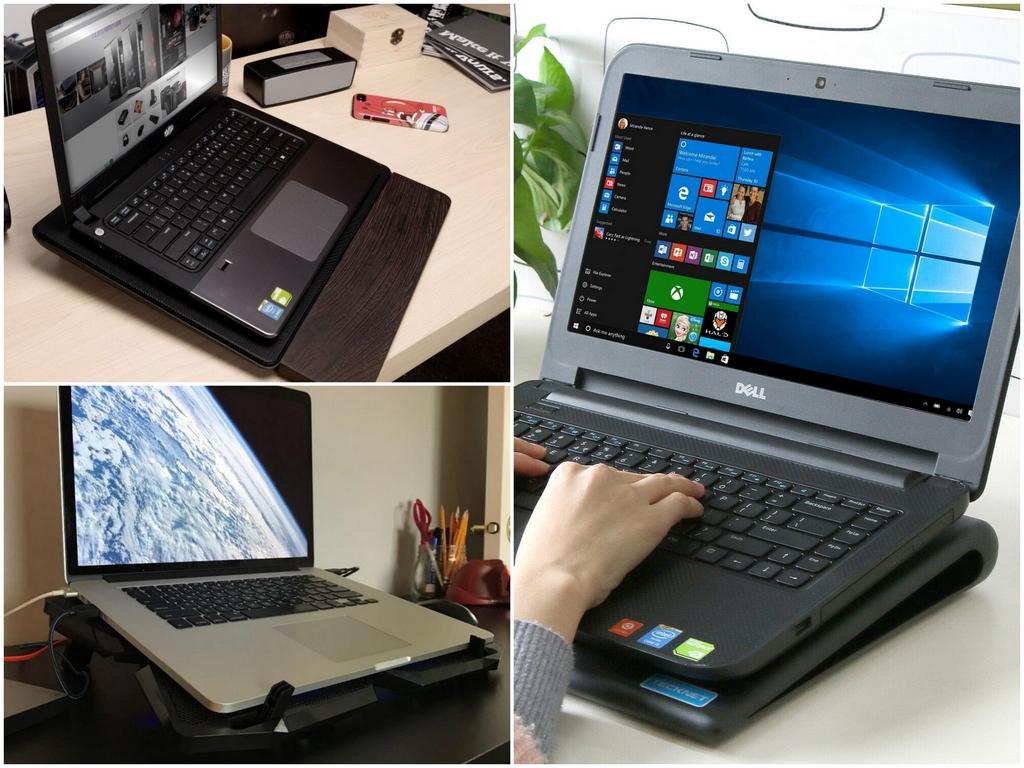 Для чего нужна охлаждающая подставка для ноутбука
