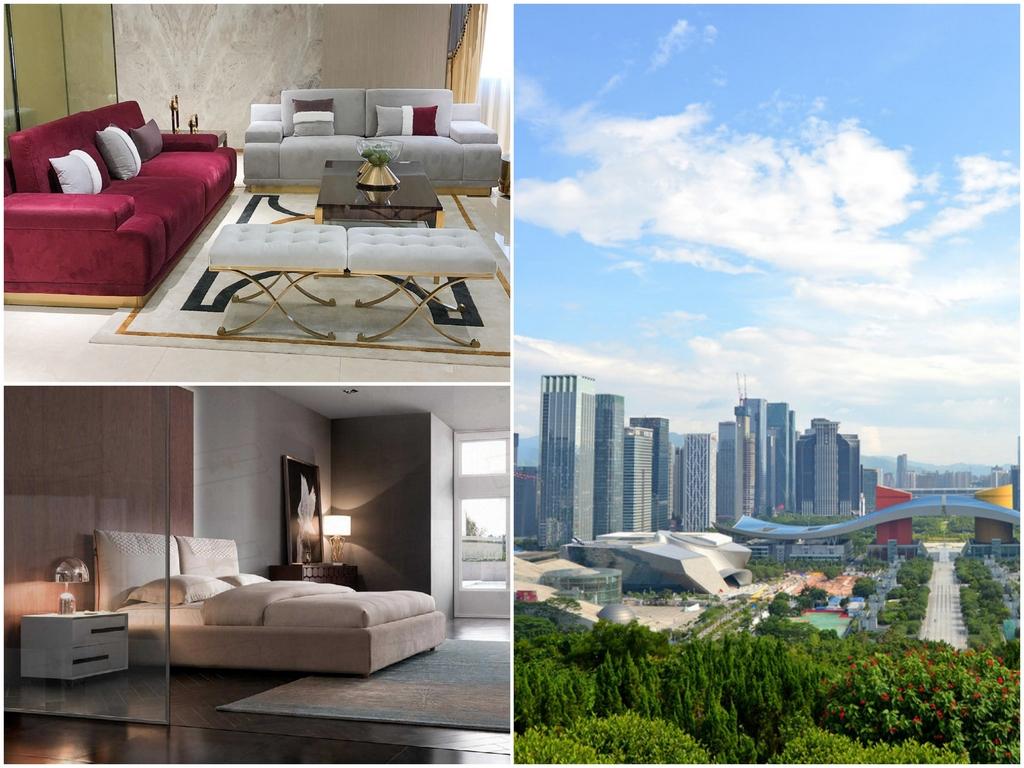 Доставка и оформление мебели из Китая