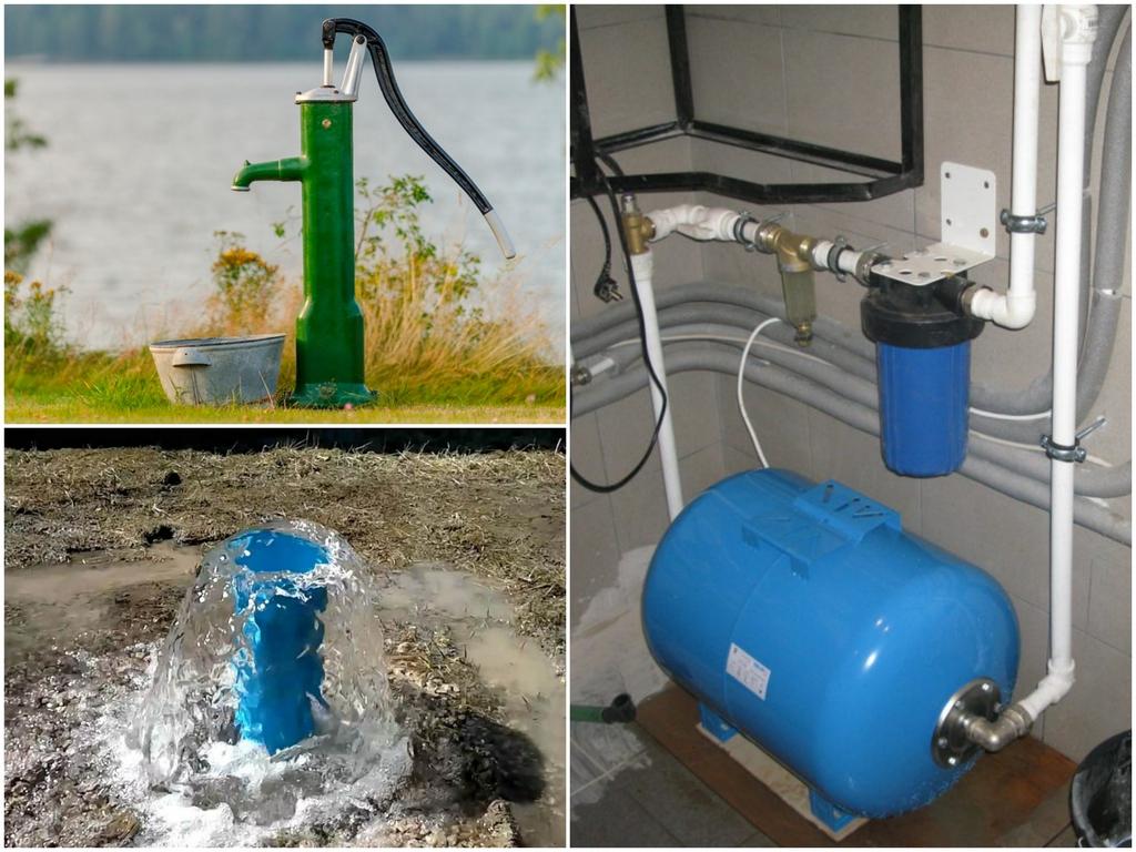 Немного о материалах для систем водоснабжения