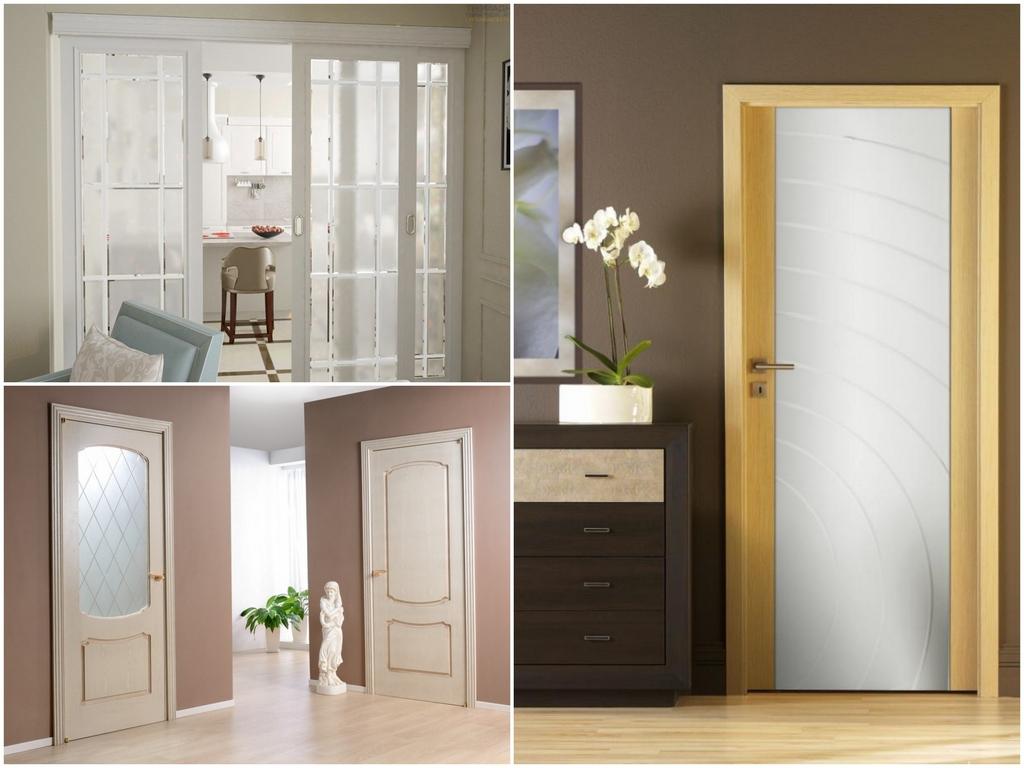 Преимущества дверей со стеклом