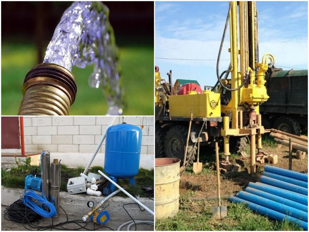 С чего начать водоснабжение загородного дома