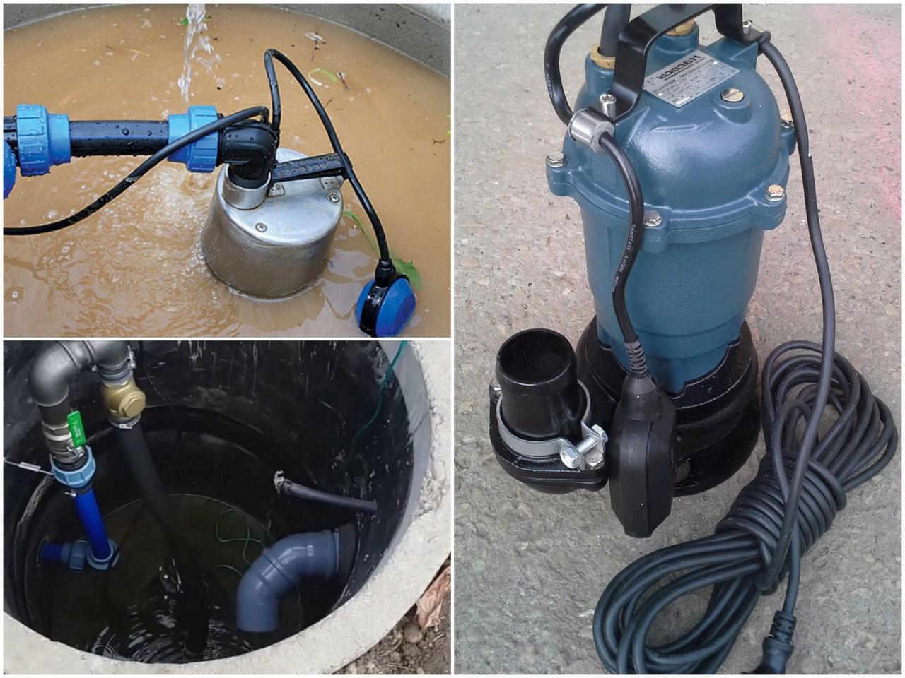 Классификация канализационных насосов