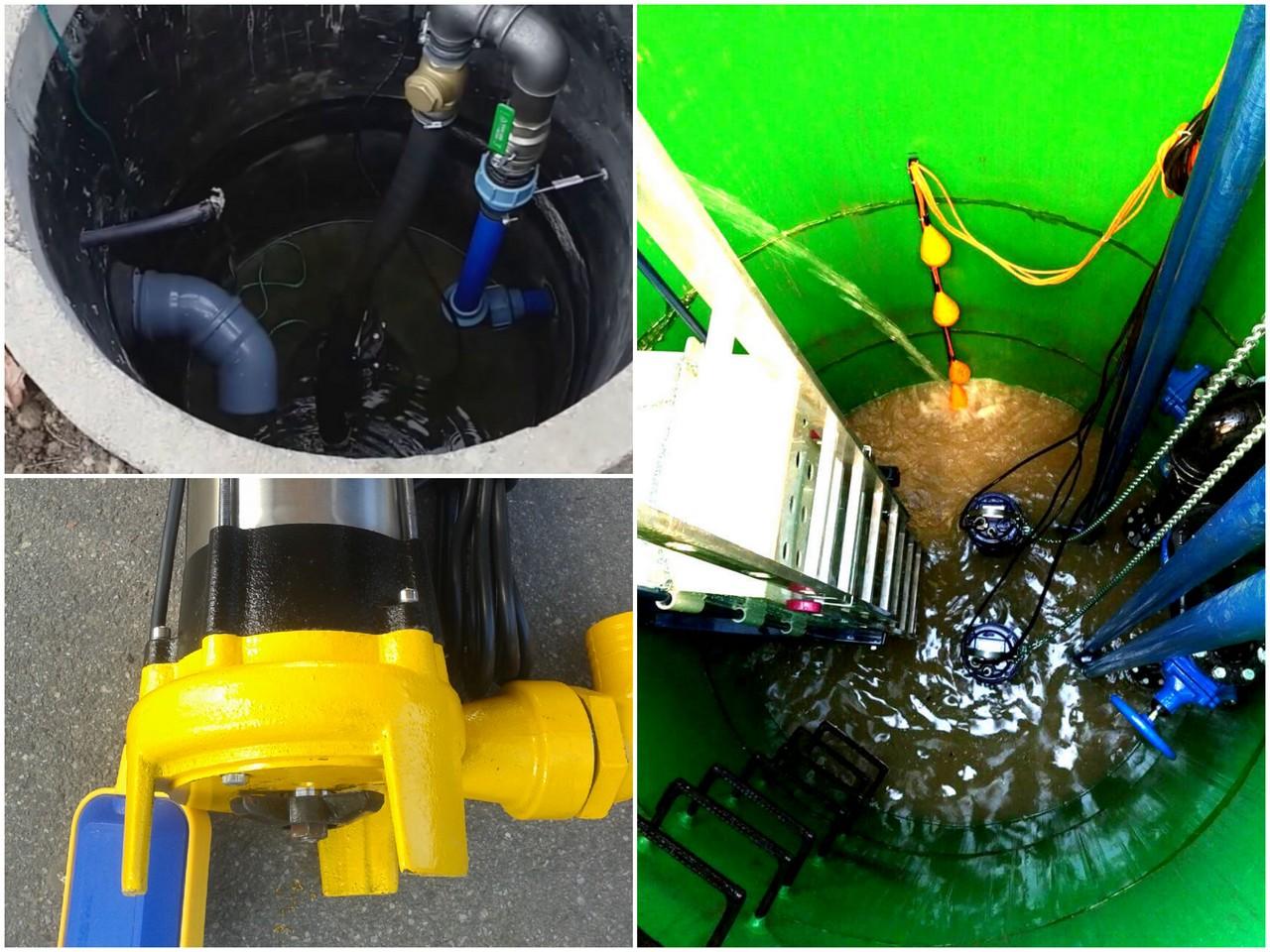 Применение канализационных насосов