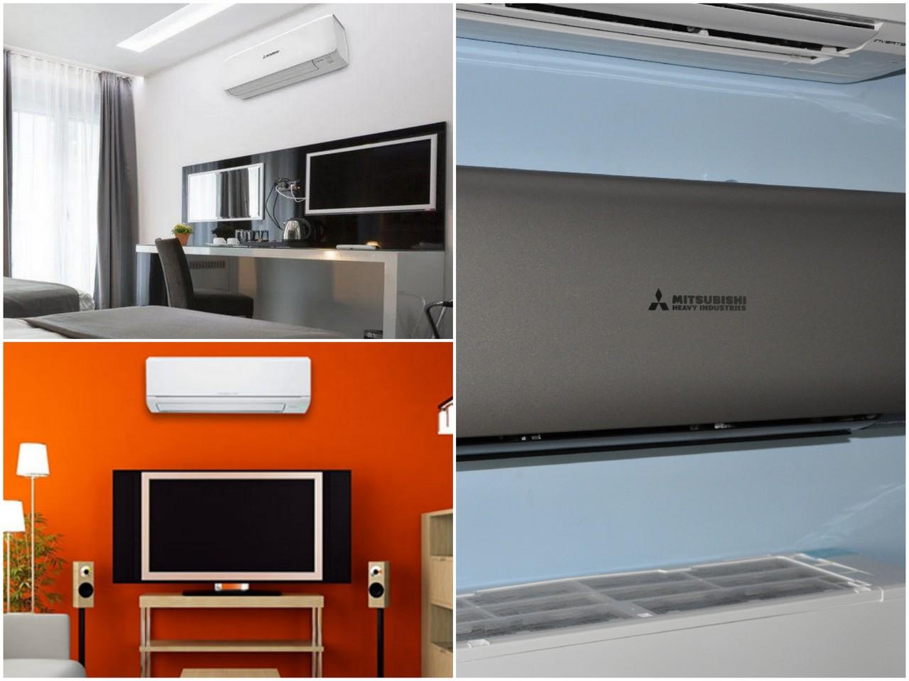 Сплит системы кондиционеров Mitsubishi Heavy доступны