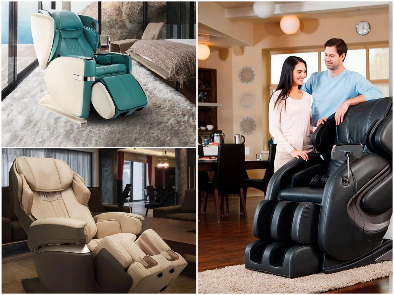 Что умеют массажные кресла