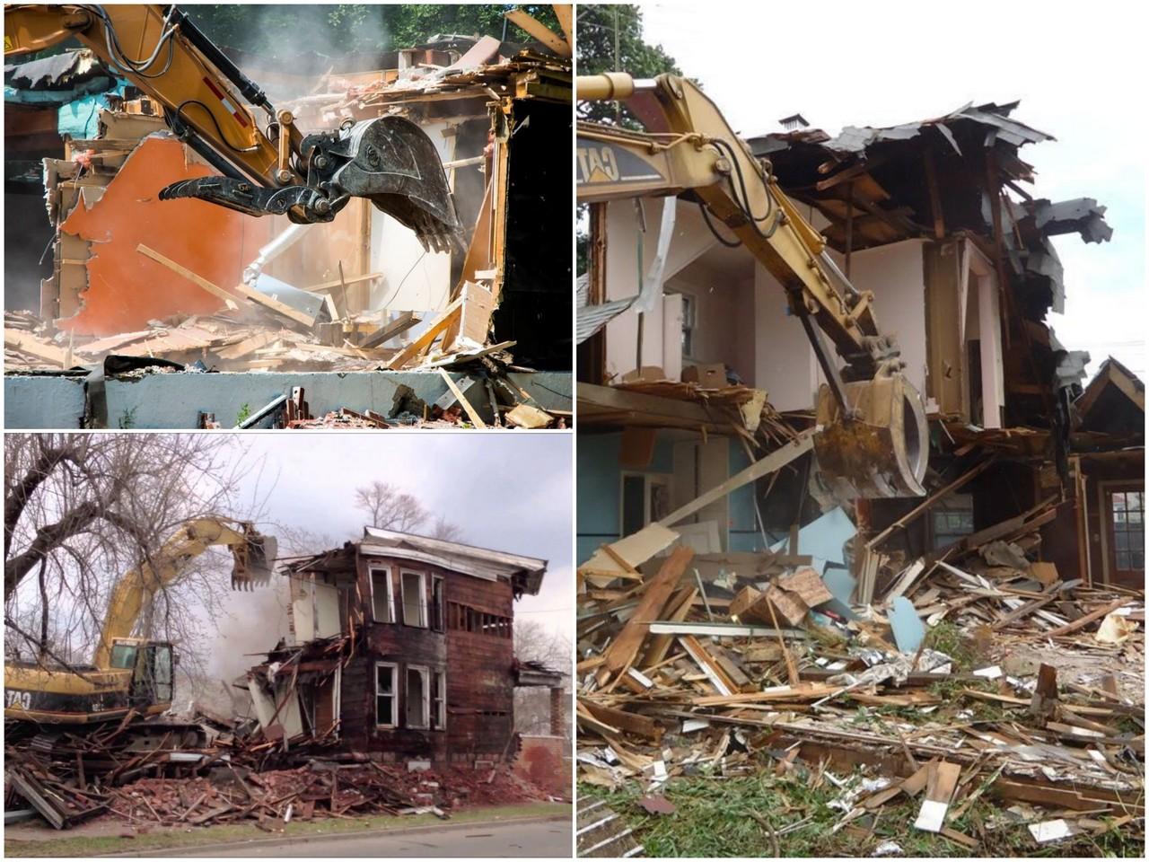 Как производится демонтаж деревянных домов