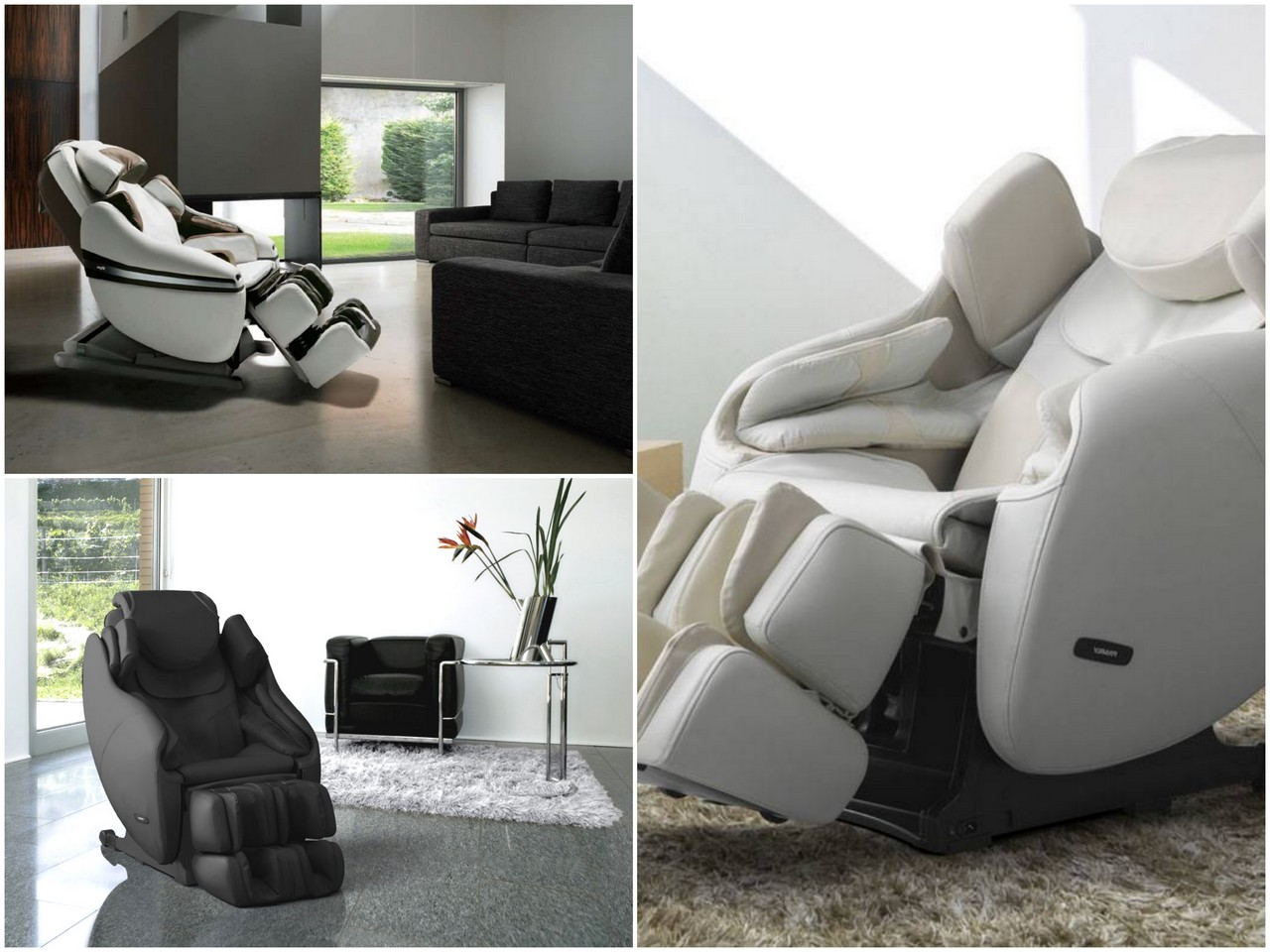 Как работают массажные кресла