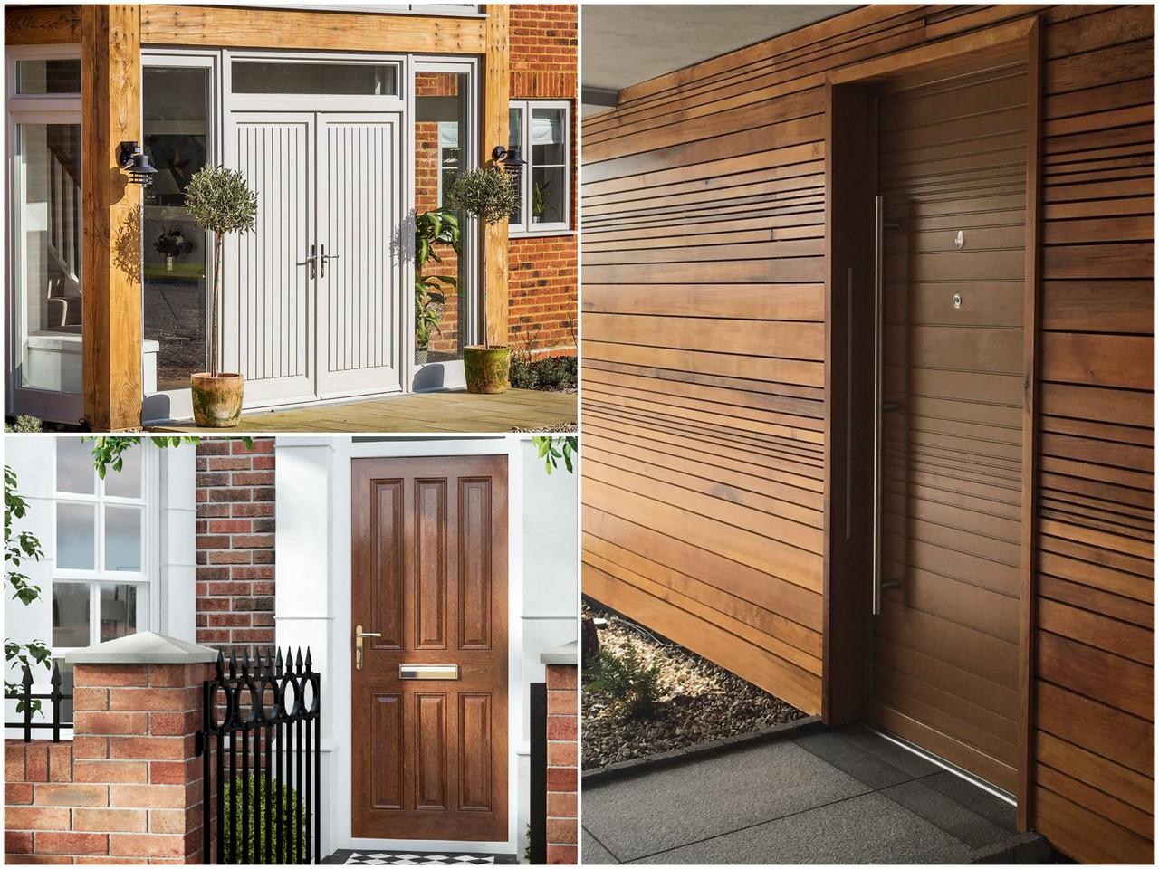 Какая древесина обычно используется для производства дверей