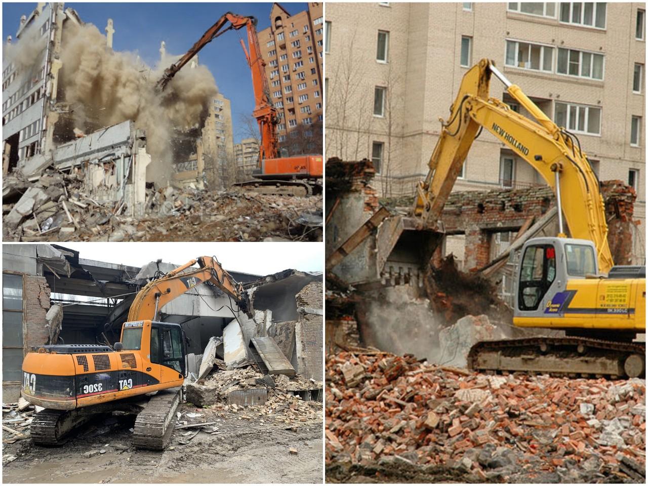 Кому доверить демонтаж зданий