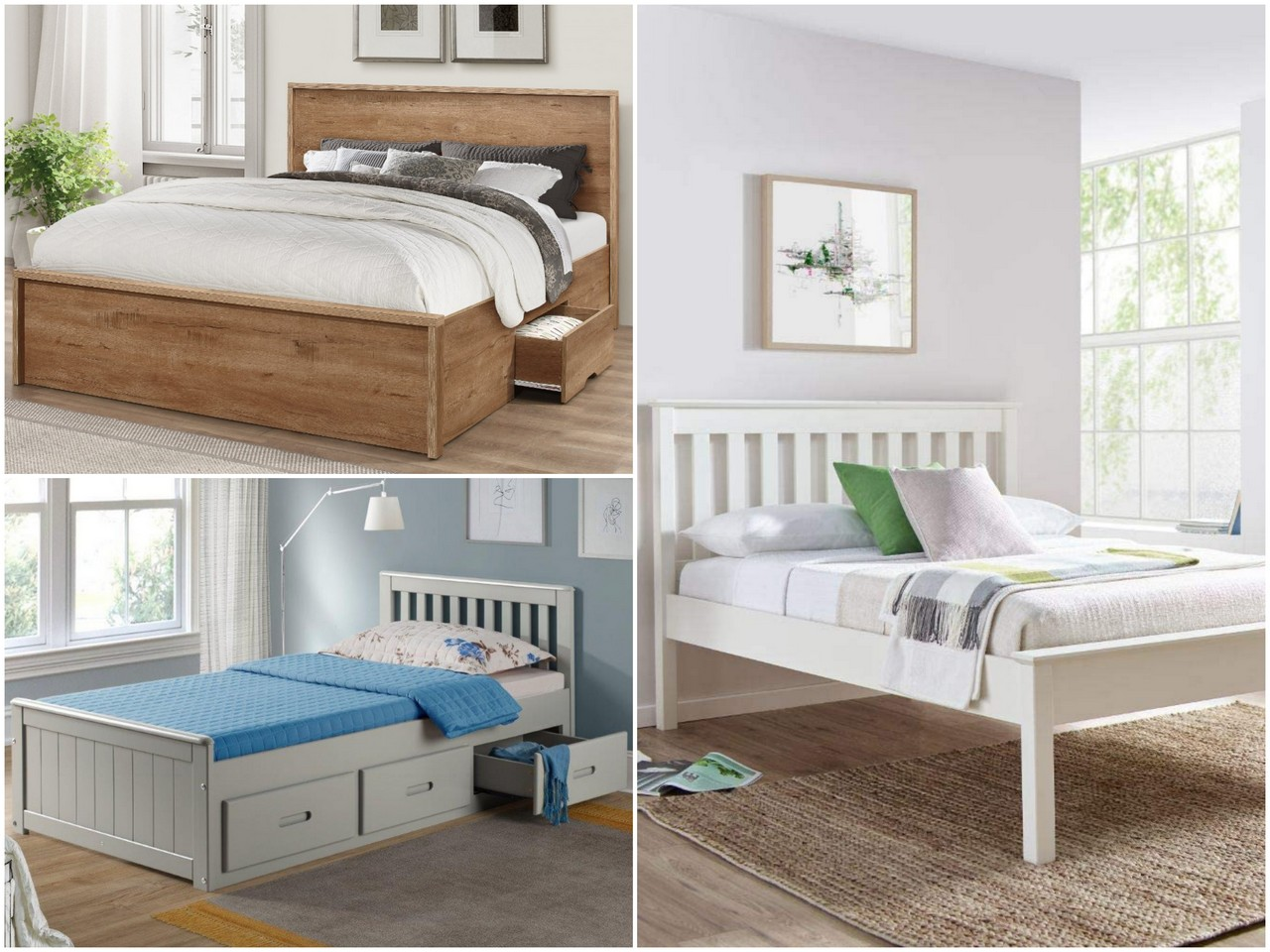 Преимущества деревянных кроватей
