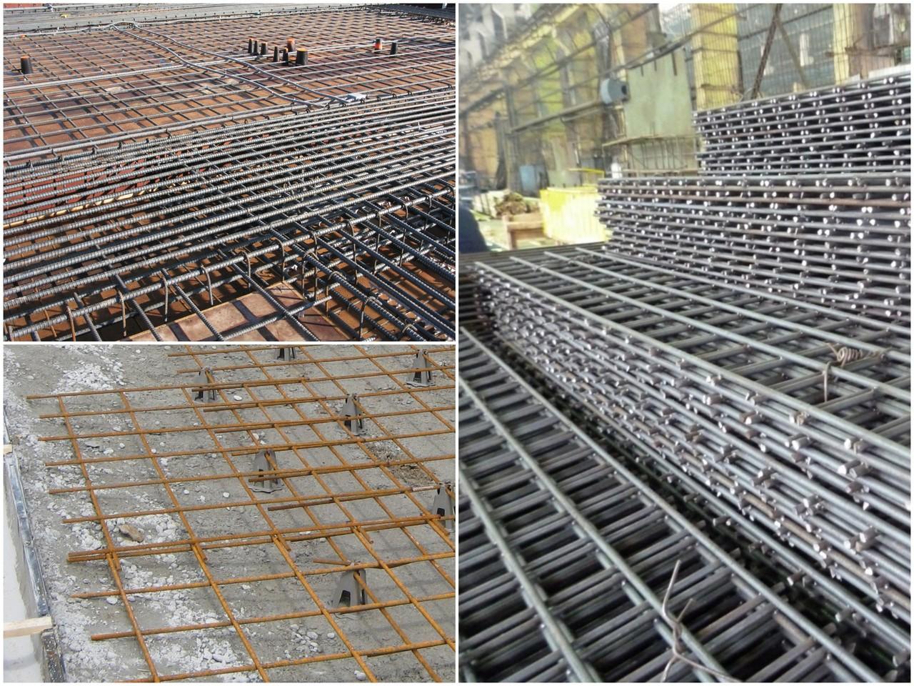 Связывание арматуры с бетоном