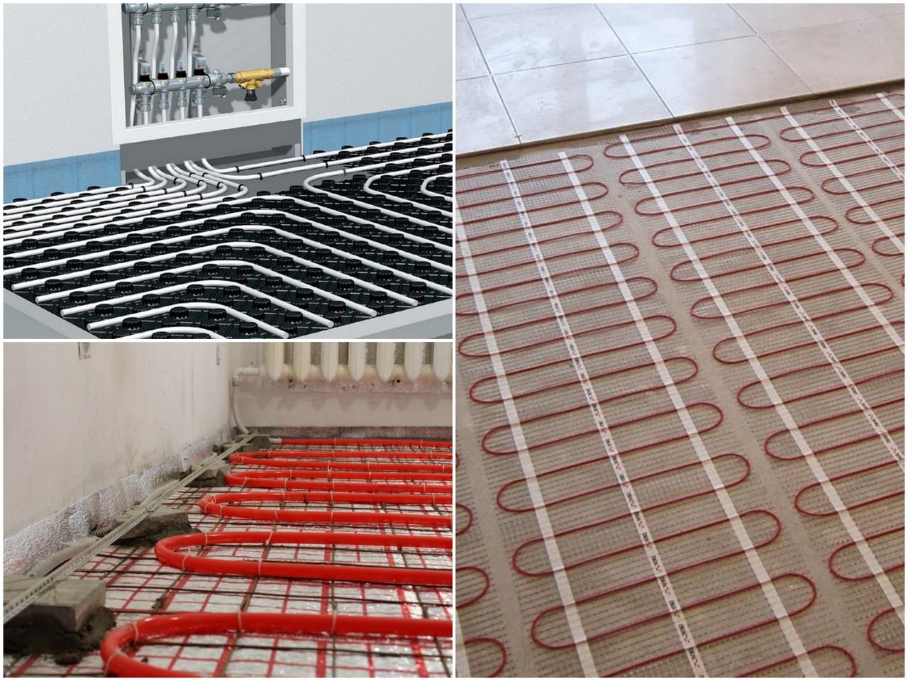 Энергосбережение напольного отопления