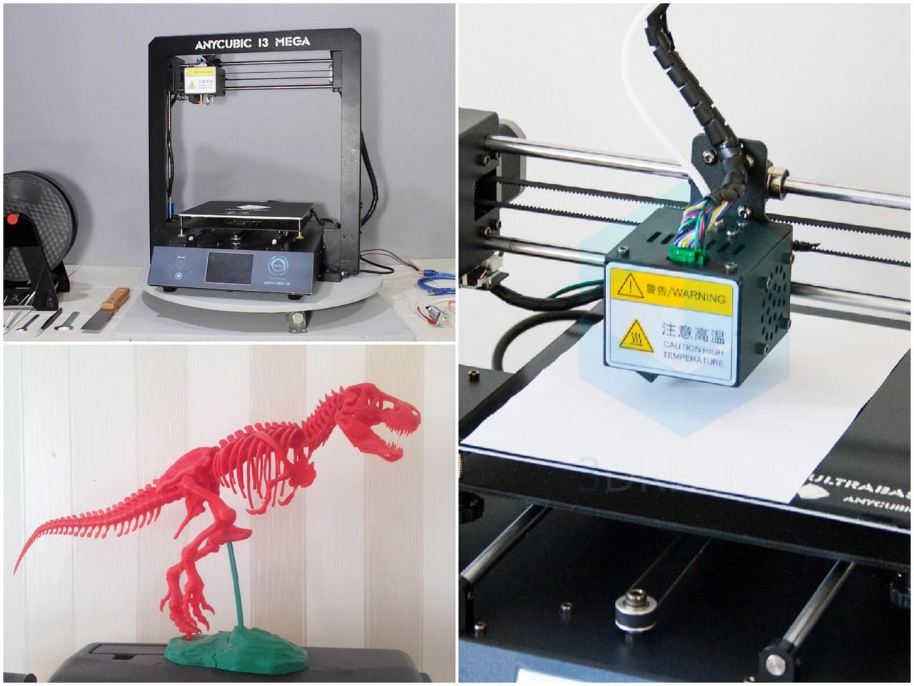 Обзор 3D-принтера Anycubic i3 Mega (ANYCUBIC M)