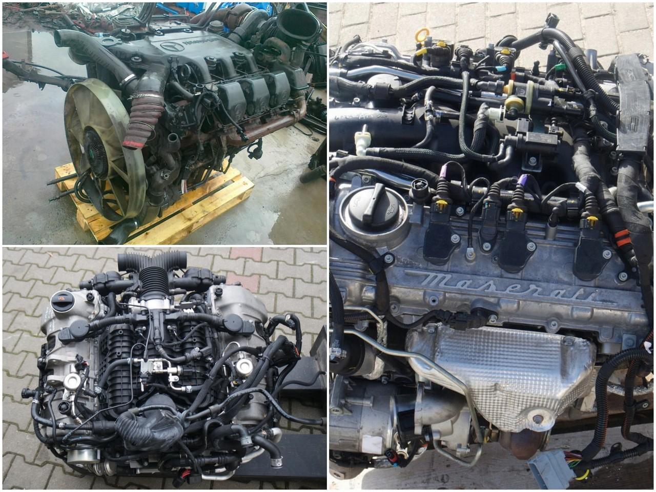 Описание двигателя V6