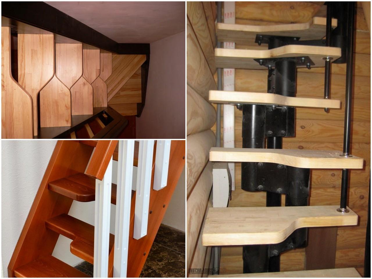 Плюсы лестницы типа гусиный шаг