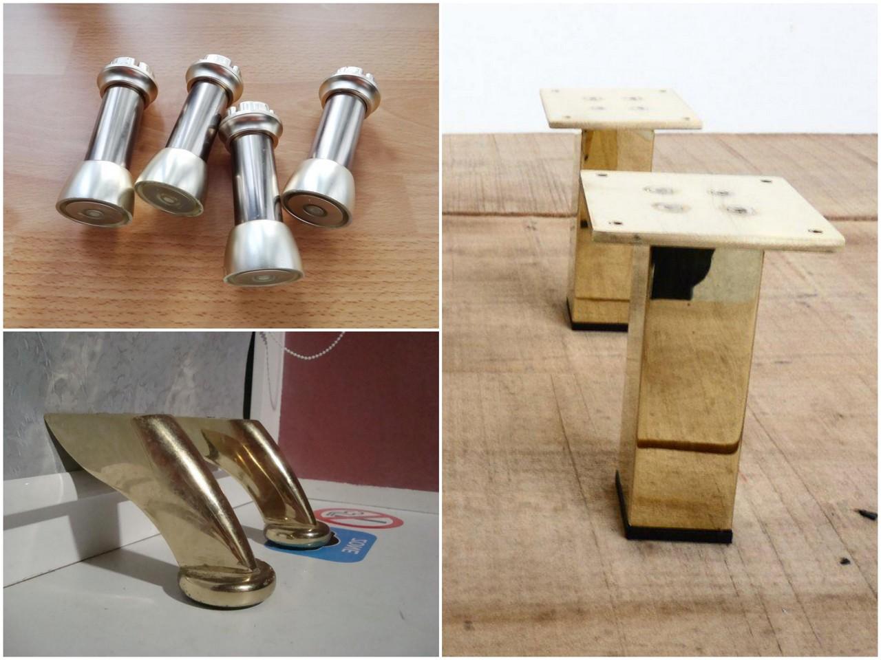 Разновидности резных мебельных ножек из дерева