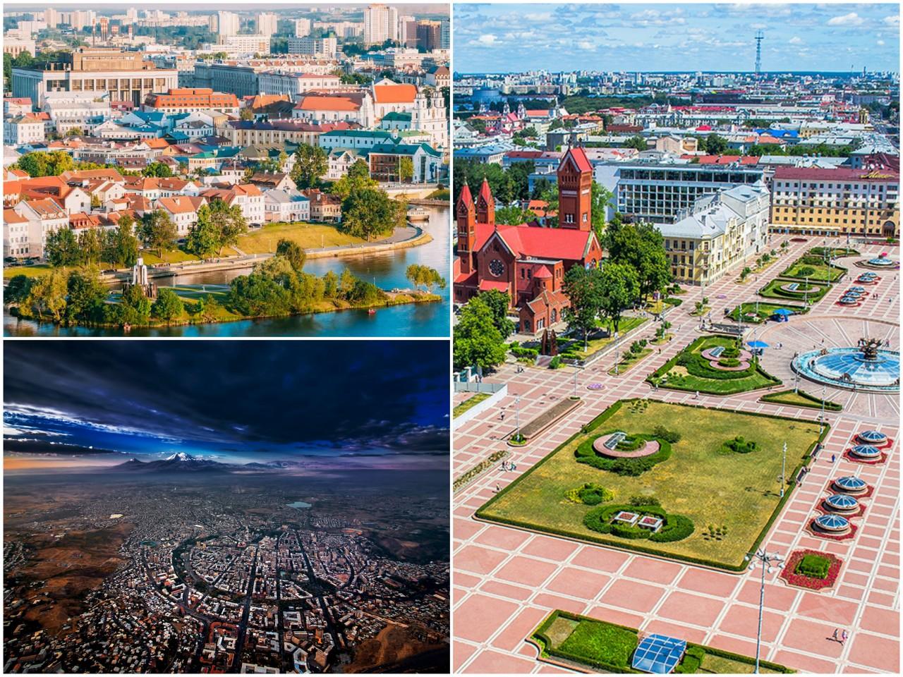 туры на выходные из Москвы в Минск