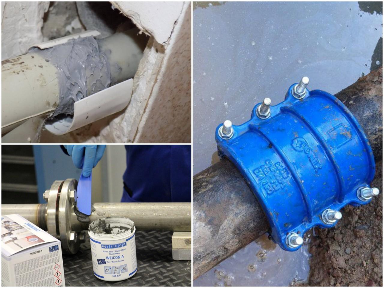 С чего начать ремонт трещин сантехнических труб