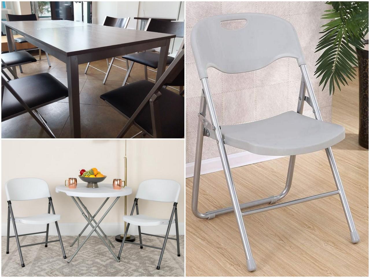 Складные стулья и их преимущества
