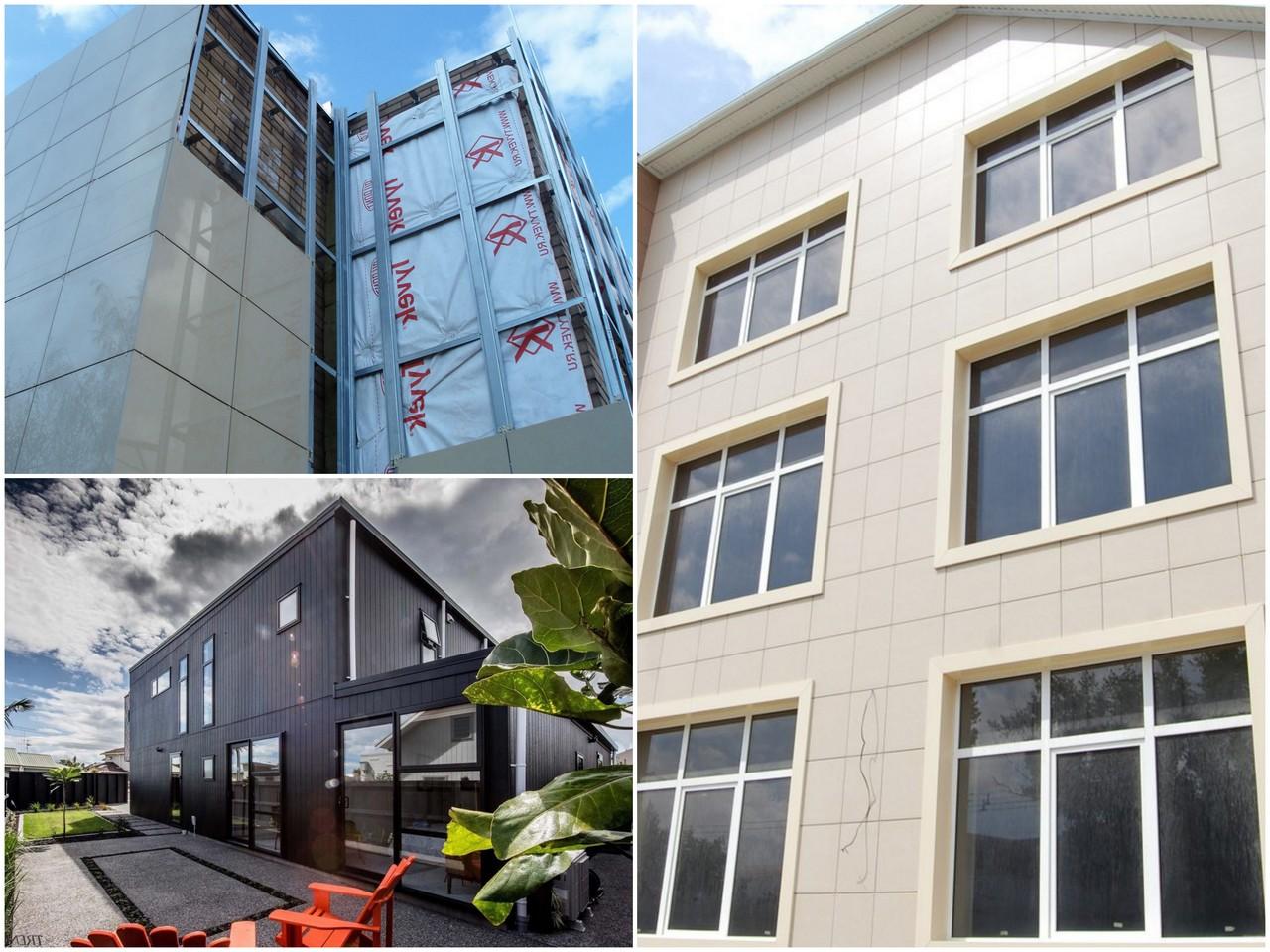Вентилируемый фасад и его преимущества