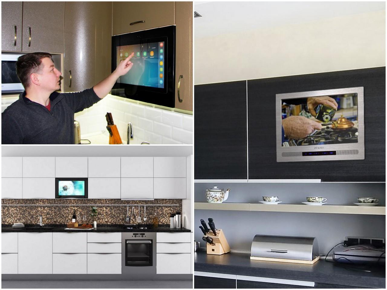 выбрать встраиваемый телевизор для кухни