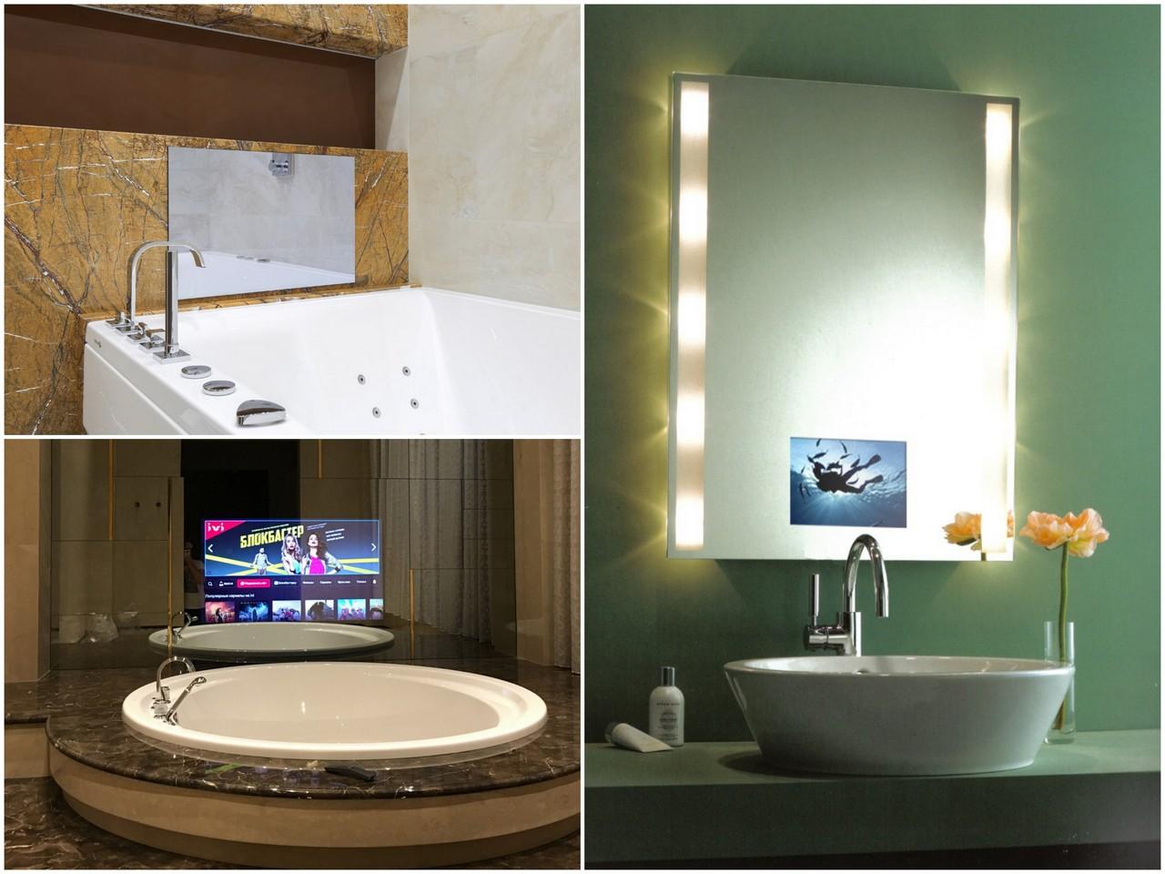 выбрать встраиваемый телевизор для ванной