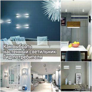 Как выбрать настенный светильник - Гид потребителя