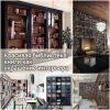 Красивая библиотека книги как украшение интерьера