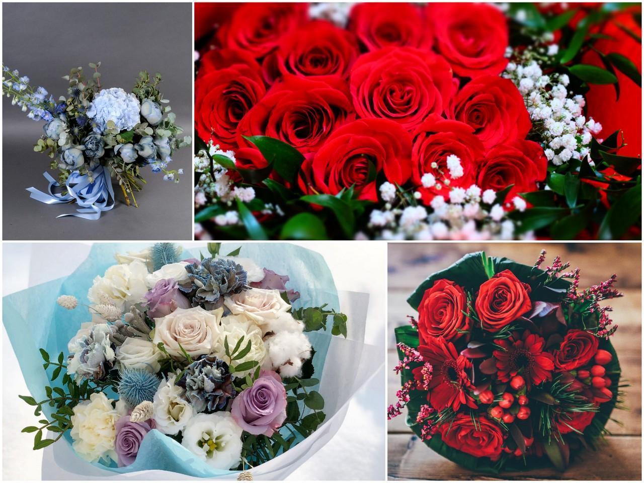 О чем говорит алый букет цветов или голубой