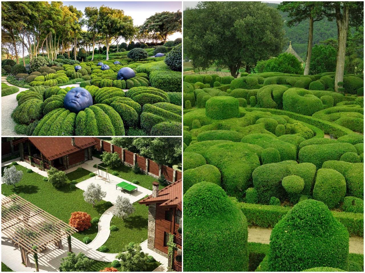 Подбирают изделия для украшения дворов, садов без чрезмерной уплотненности