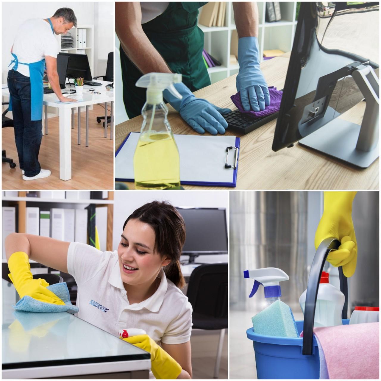 Профессиональная уборка офисных помещений актуальность услуги
