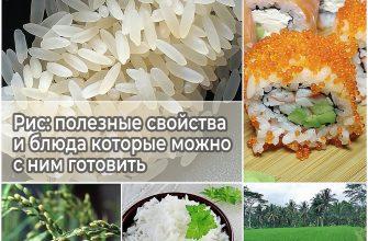 Рис полезные свойства и блюда которое можно с ним готовить