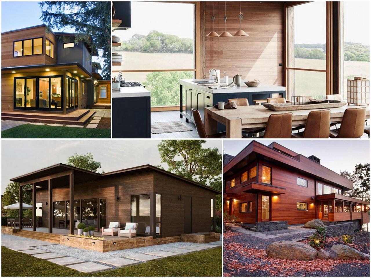 Какой он - современный деревянный дом